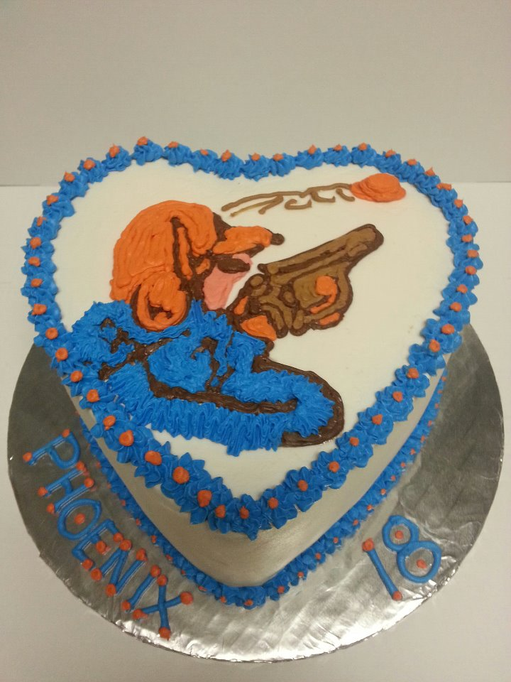 Skeet Shooter Birthday